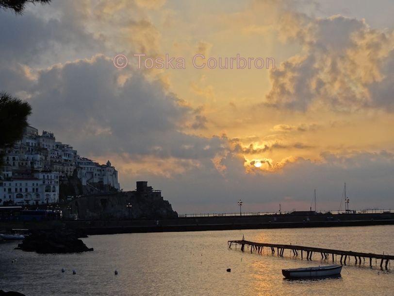 Amalfi Sun Rise Italy
