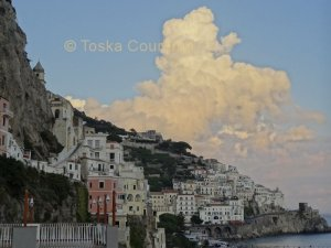 Amalfi Afternoon Cloud