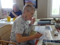 Workshop Host and Wonderful Artist--Jo Pate