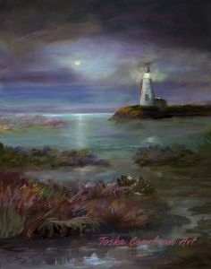 1034  Moonlight Marsh  $380