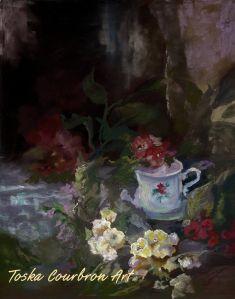 1069 Cut Flowers Pastel  $475